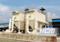 HCH1395 molino ultrafino - proyecto de procesamiento de carbonato de calcio