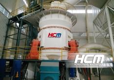 HLM21 molino vertical - proyecto de procesamiento de polvo superfino del escorias